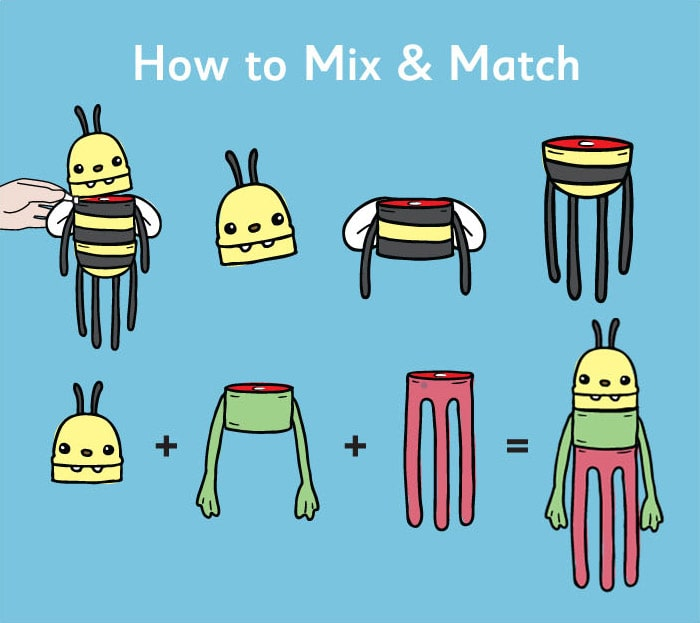 Clump-O-Lumps: How to mix & match