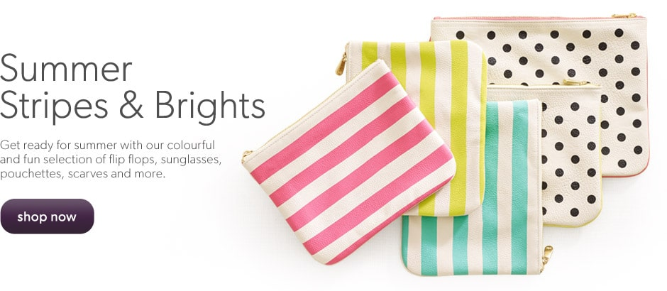 Fashion Accessories - Stripes &amp; Brights