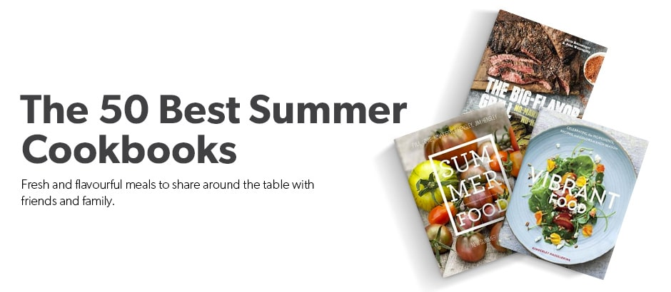 50% off the Best Cookbooks of the Summer