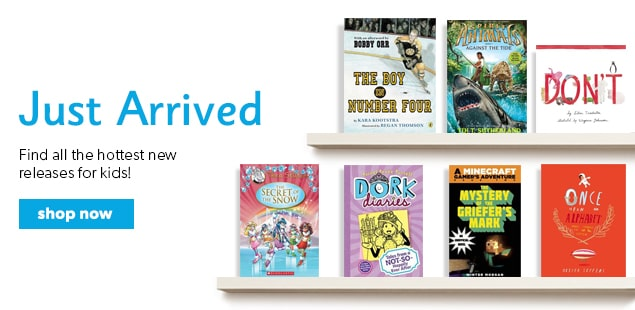 shop new & hot books for kids now!
