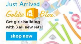 shop goldieblox now!